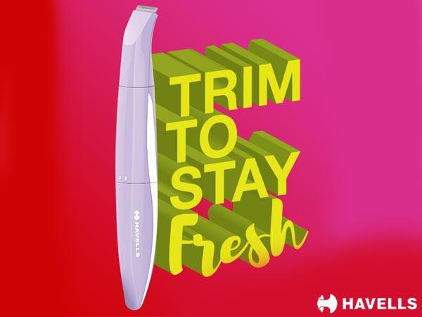 Trim to say fresh