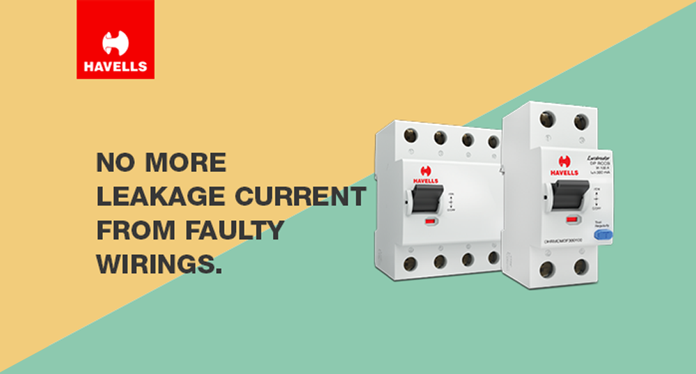 Havells Residual Current Circuit Breakers