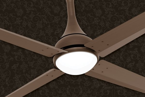 Install Ceiling Fans with Lights to Let Your 5th Wall Stand Out