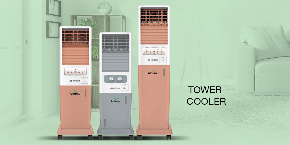 Tower Coolers – To Enjoy Cooling a Little Higher | Havells India Blog